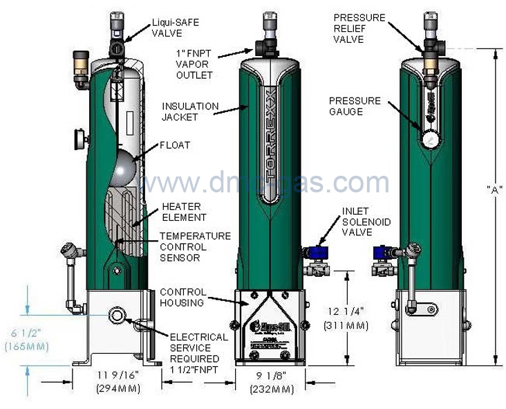 Algas Sdi Torrexx Dry Electric Vaporizer Tx Series